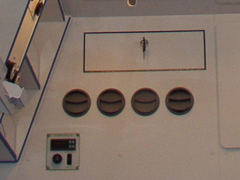 klimatizace sanitní vozidlo