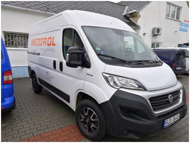 Aktualita duben 2019 – Servisní vozidla partnera MEDIROL